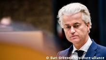 Niederlande Geert Wilders - Debatte des Repräsentantenhauses über das Coronavirus