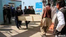 Afghanistan Autobombenanschlag in der Provinz Ghasni