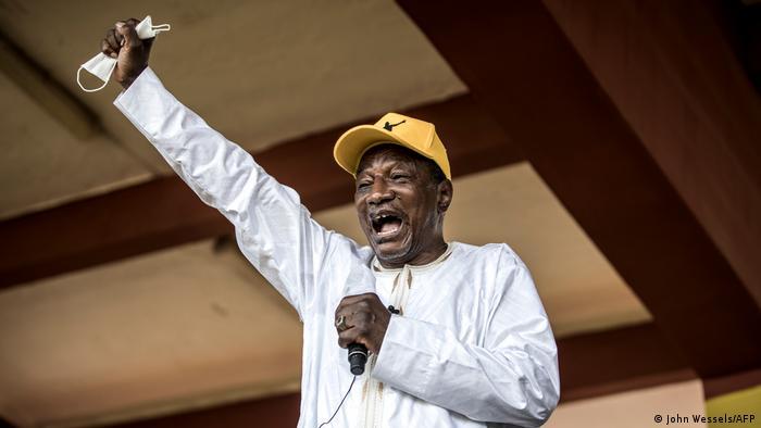 Guinea Präsidentschaftswahlen | Alpha Conde (John Wessels/AFP)