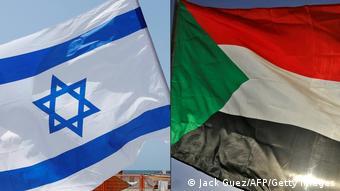 Fahnen Israel - Sudan