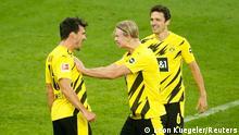 Deutschland Bundesliga - Borussia Dortmund v Schalke 04 | Tor (3:0) (Leon Kuegeler/Reuters)