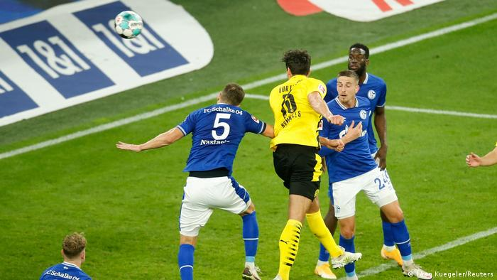 Hummels' header was the icing on the cake for Dortmund in the derby