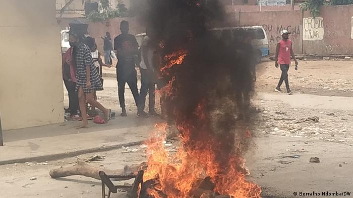 Angola Protest in Luanda