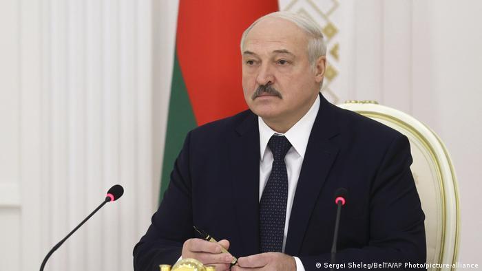 Belarus Präsident Alexander Lukaschenko (Sergei Sheleg/BelTA/AP Photo/picture-alliance)