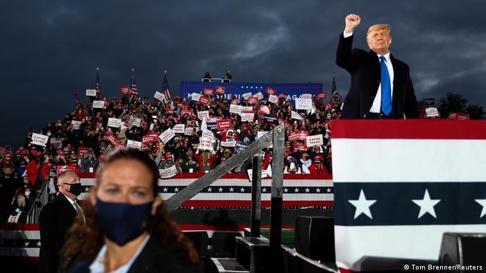 Wahlkampf I USA I Donald Trump in Circleville - Ohio