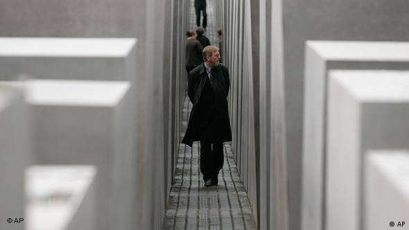 Holocaust Mahnmal in Berlin Deutschland Flash-Galerie