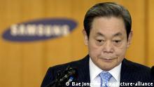 Samsung head Lee Kun Hee (Bae Jong-Hwa/dpa/picture-alliance)