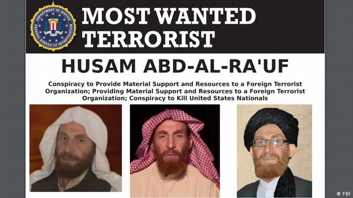 Абу Мухсин аль-Масри на интернет-странице ФБР