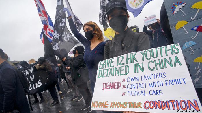 London | Hongkong Solidaritätskundgebung 12 Inhaftierte