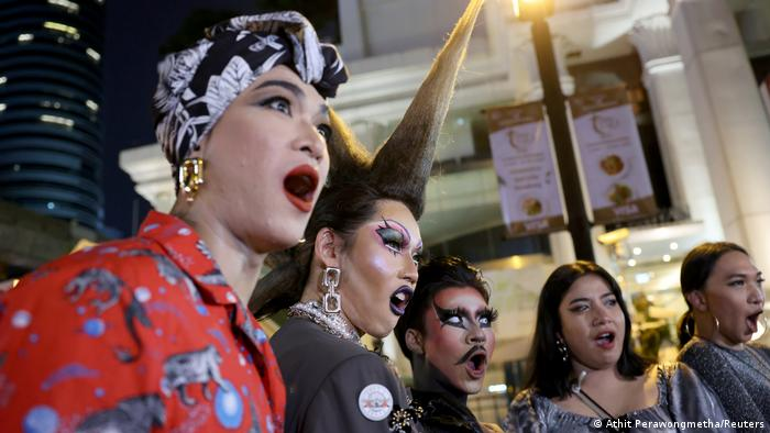 The pro-democracy movement has drawn protesters from a wide-range of interest groups. The movement has also come to embody Thailand's diversity, with thousands of people joining in protests to push for gender equality and LGBT+ rights.