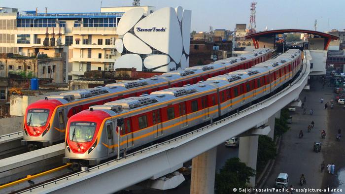Pakistan | Lahore Orange Train Metro