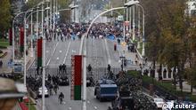 Belarus Proteste Minsk Polizei