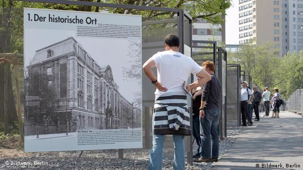 Around 80,000 visitors tour the site in the center of Berlin each year