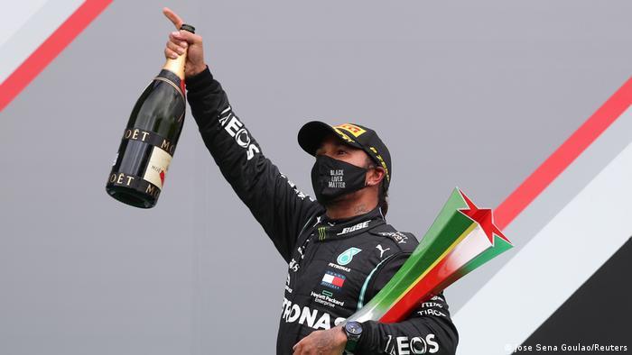 Formel 1 | Lewis Hamilton gewinnt großen Preis von Portugal (Jose Sena Goulao/Reuters)