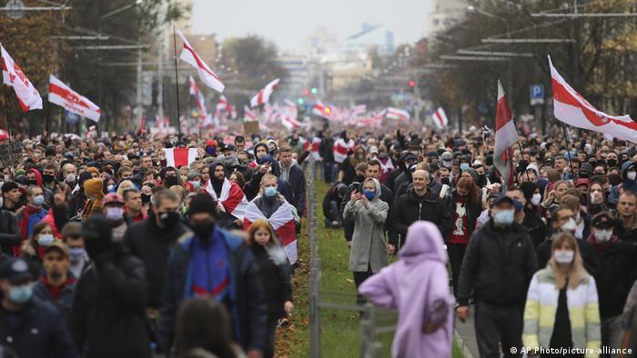 Weißrussland Minsk | Protest Demonstration