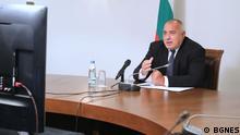 Bulgarien Premierminister Boyko Borissov