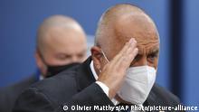 Belgien EU Gipfel | Bulgariens Premierminister Boyko Borissov