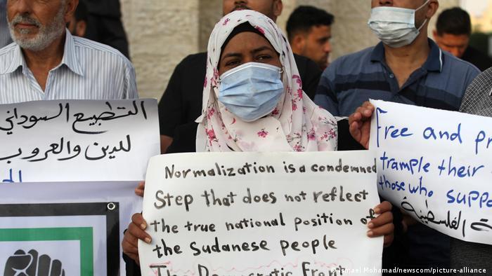 Sudan-Israel-Beziehung | Palästinenser protestieren