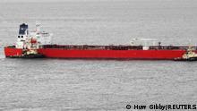 Öl-Tanker Nave Andromeda Portishead Großbritannien
