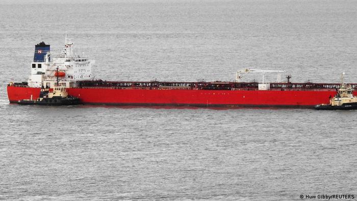 Нефтяной танкер Nave Andromeda