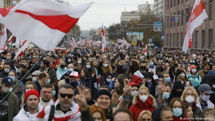 Протест в Минске, 25 октября 2020 года