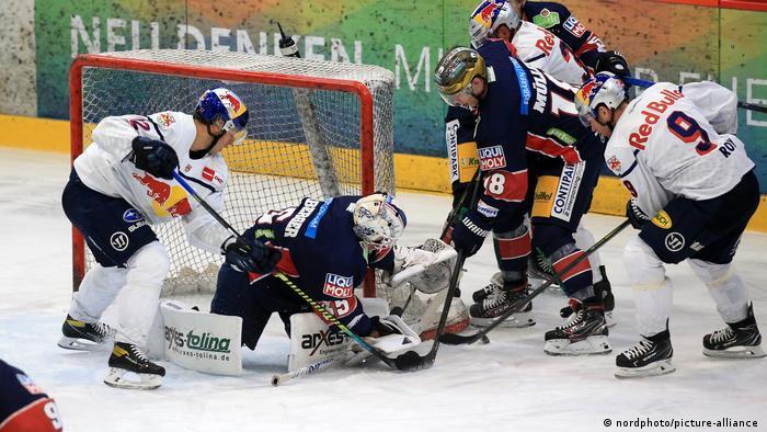 Deutschland Eishockey Eisbären Berlin vs EHC Red Bull München
