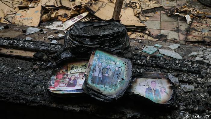 صور عائلية محترقة في ميدنة باردا