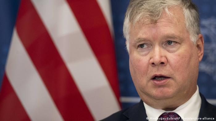 US-Vizeaußenminister Stephen Biegun (Mindaugas Kulbis/AP Photo/picture-alliance)