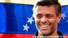Venezuela Oppositionsführer Leopoldo LopezVenezuela Oppositionsführer Leopoldo Lopez