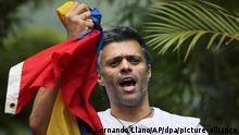 Oppositionsführer López aus Venezuela geflüchtet