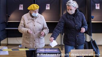 Парламентские выборы в Литве 25 октября
