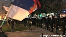 Serbien Belgrad Proteste (Dragoslav Dedovic/DW)