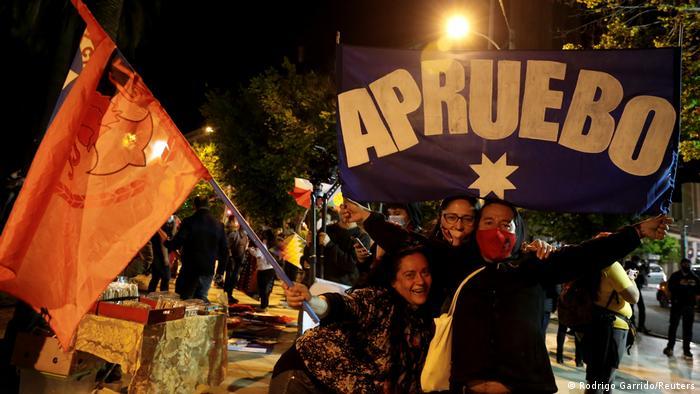 Chile | Referendum über eine neue chilenische Verfassung in Santiago