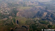 Tagebau im russischen Kohlerevier Kusbass