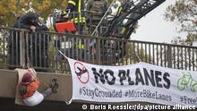 Hessen Proteste gegen Ausbau der A49 (Boris Roessler/dpa/picture alliance)
