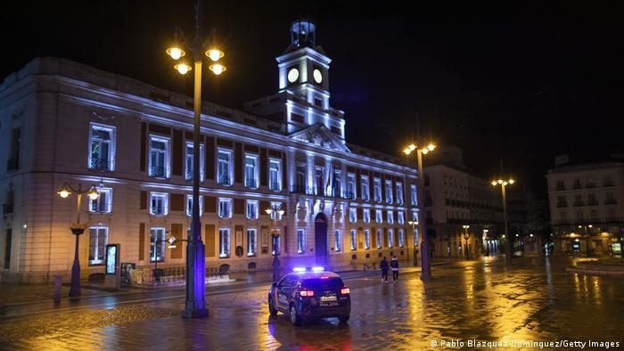 Policijski sat u Madridu