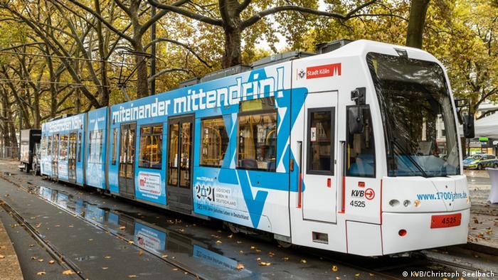 1700 Jahre jüdisches Leben in Deutschland | Köln Straßenbahn