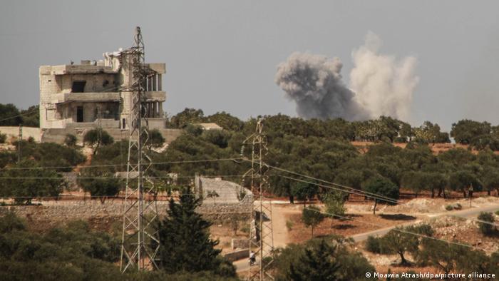 Nahostkonflikt - Tote nach Luftangriff in Syrien