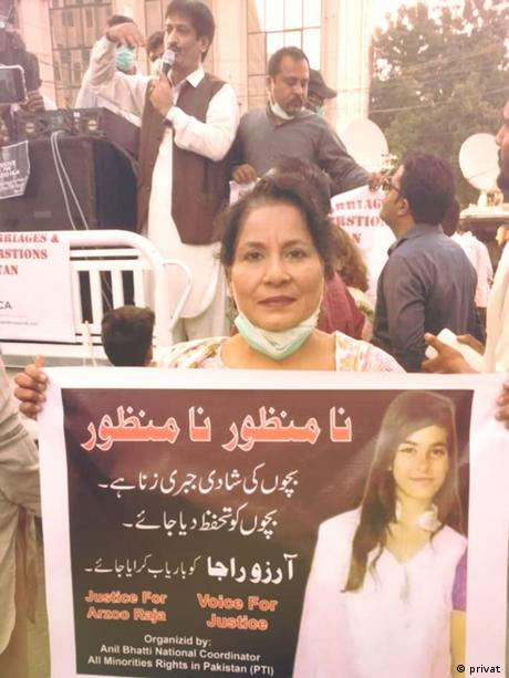 Pakistan | Demonstration | Arzo Raja