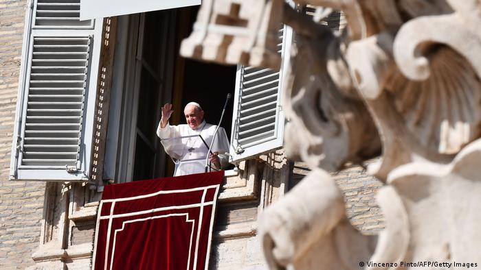 Vatikan | Balkon am Petersplatz | Papst Franziskus
