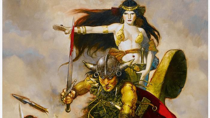 Masterpieces of Fantasy Art - Comic Ausstellung