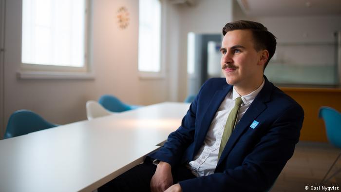 Finnland Helsinki | Finnischer Politiker | Matias Mäkynen