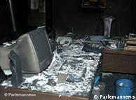 تصویری از حمله به دفتر نصرالله ترابی نماینده شهر کرد در مجلس