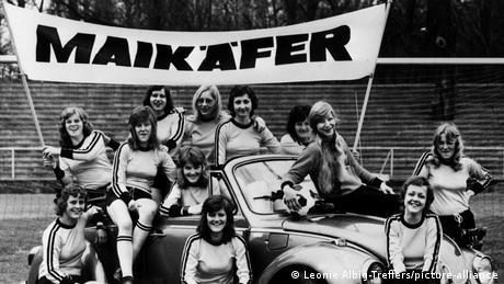 Frauenfußball   Die Maikäfer aus Minden (Leonie Albig-Treffers/picture-alliance)