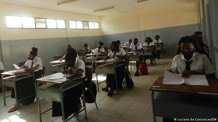 Mosambik | Coronavirus | Hygiene in Schulen