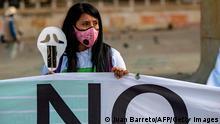 Kolumbien | Coronavirus | Proteste in Bogota