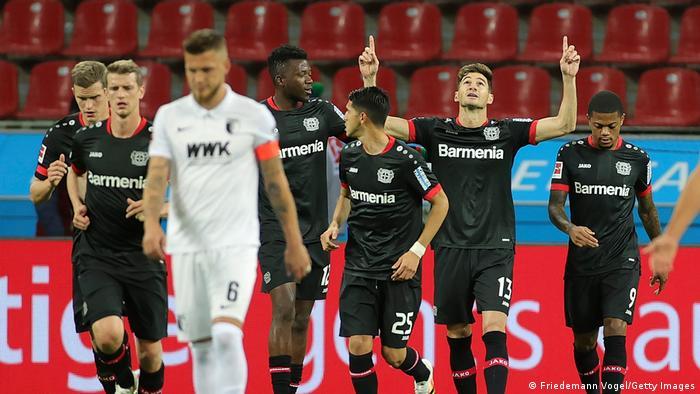 Fußball Bundesliga Bayer Leverkusen - FC Augsburg
