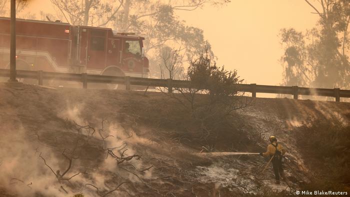 Silverado-Feuer nahe Irvine in Kalifornien (Mike Blake/Reuters)
