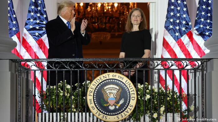 USA | Donald Trump und Amy Coney Barrett
