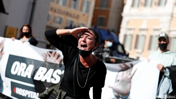 BG Europaweite Anti-Lockdown Proteste (Yara Nardi/Reuters)